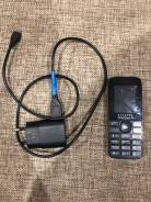 Alcatel. Б/у, до 8 Гб, Черный, Dual-SIM, Кнопочный