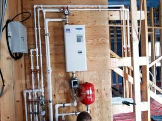 Монтаж систем отопления - теплые полы, радиаторы, конвекторы. Частник!