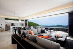 Роскошный пентхаус с видом на море, 3-спальни, Лагуна, доступен на НГ