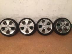 """Продам комплект колес на 17 с летней резиной. 7.0x17"""" 4x100.00, 4x114.30 ET40 ЦО 73,0мм."""