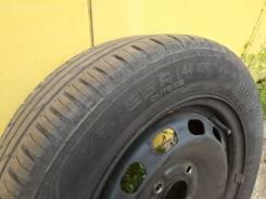 """Продам колеса в сборе Nokian Hakka Green 2 на штамповке. 5.5x14"""" 4x108.00 ET47.5 ЦО 63,3мм."""