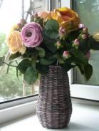 Пионовидные розы, ручной работы из фоамирана