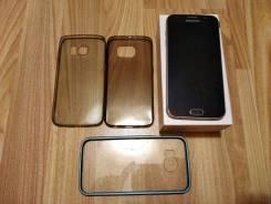 Samsung Galaxy S6. Б/у, 32 Гб, Синий, 3G, 4G LTE