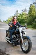 Фотосессия с мотоциклом терминатора.
