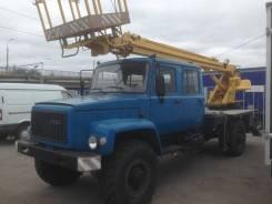 ГАЗ 3308 Садко. Автовышка АГП на базе ГАЗ Садко, 14 метров, 14м.