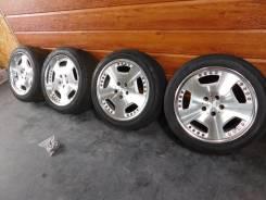 """Разноширокие диски Leon Hardiritt+резина на Mercedes W140 W220 и др. 8.5/9.5x18"""" 5x112.00 ET39/42"""