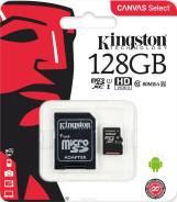 MicroSDXC. 128Гб, интерфейс micro SDXC, SDXC