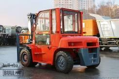 Bull FD100. Вилочный дизельный автопогрузчик BULL FD 100 JE «HELI», 10 000кг., Дизельный
