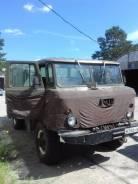 ГАЗ 66-02. ГАЗ 6602 Грузопассажирский фургон, 5 970кг.