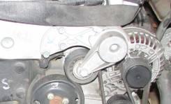 Натяжитель ремня. Volkswagen Phaeton, 3D1, 3D3, 3D4, 3D6, 3D7, 3D9 Volkswagen Touareg, 7L6, 7L7, 7LA, 7P5, 7P6 Audi Q7, 4LB Porsche Cayenne Двигатель...