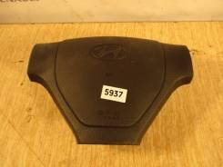 Подушка безопасности водителя. Hyundai Getz, TB Двигатели: D3EA, D4FA, G4EA, G4EDG, G4EE, G4HD, G4HG