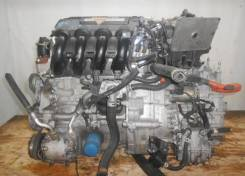 Двигатель с КПП, Honda LDA - 2014398 CVT SBLA FF ZE2 коса+комп, брак 1