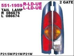 Фонарь задний Depo 551-1959R-LD-UE