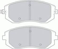 Комплект тормозных колодок, дисковых FERODO FDB1639