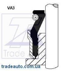 Уплотнительное кольцо, стержень клапана CORTECO 12015511