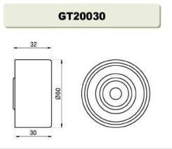 Паразитный, ведущий ролик, зубчатый ремень GMB GT20030