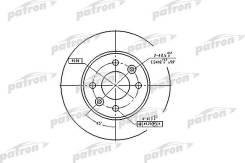 Тормозной диск PATRON PBD1013