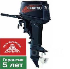 Tohatsu. 30,00л.с., 2-тактный, бензиновый, нога S (381 мм)