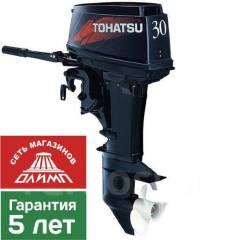 Tohatsu. 30,00л.с., 2-тактный, бензиновый, нога S (381 мм). Под заказ
