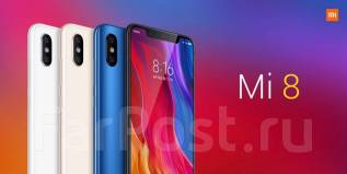 Xiaomi Mi8. Новый, 64 Гб, Черный, 3G, 4G LTE, Dual-SIM