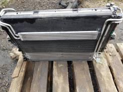 Радиатор охлаждения двигателя. Porsche Cayenne, 955