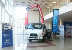 Hyundai HD78. Новый бортовой с манипулятором Palfinger PK6500 (3,2т), 3 907куб. см., 3 420кг.