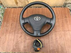 Руль. Toyota Corolla Axio, ZRE142, ZRE144, NZE144, NZE141 Toyota Corolla Fielder, NZE144G, NZE141G, ZRE142G, ZRE144G Двигатели: 2ZRFAE, 2ZRFE, 1NZFE