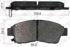 Колодки тормозные fr toyota rav, corona, carina 92 Sat, правый передний