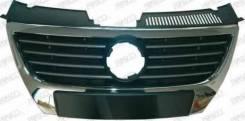 Решетка радиатора. Volkswagen Passat, 3C2, 3C5 Двигатели: AXX, AXZ, BKC, BKP, BLF, BLP, BLR, BLS, BLV, BLX, BLY, BMA, BMB, BMP, BMR, BPY, BSE, BSF, BU...