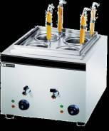 Макароноварка HURAKAN 4 кВт., 2 ванны по 8л. HKN-EKT40