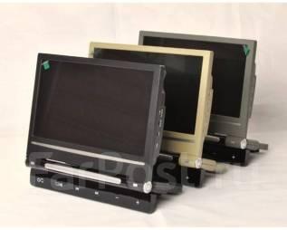 Монитор НА Подголовник - 9 Дюймов, DVD, ИГРЫ, IR, USB, SD, FM. Под заказ