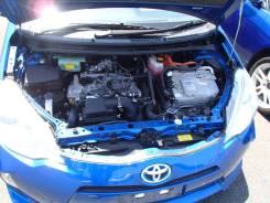 Двигатель в сборе. Toyota Aqua Двигатель 1NZFXE