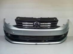Решетка бамперная. Volkswagen Polo, 602, 612 Двигатели: CFNA, CFNB, CFW, CLSA, CWVA, CZCA