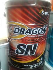 S-Oil Seven Dragon. Вязкость 5W-30, полусинтетическое