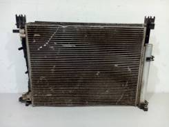 Кассета радиатор охлаждения + кондиционера + вентилятор renault loga. Renault Logan, L8 Renault Sandero, 5S Двигатели: H4M, K4M, K7M, D4F