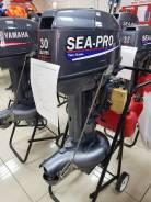 Sea-Pro. 30,00л.с., 2-тактный, бензиновый, нога S (381 мм), 2018 год год