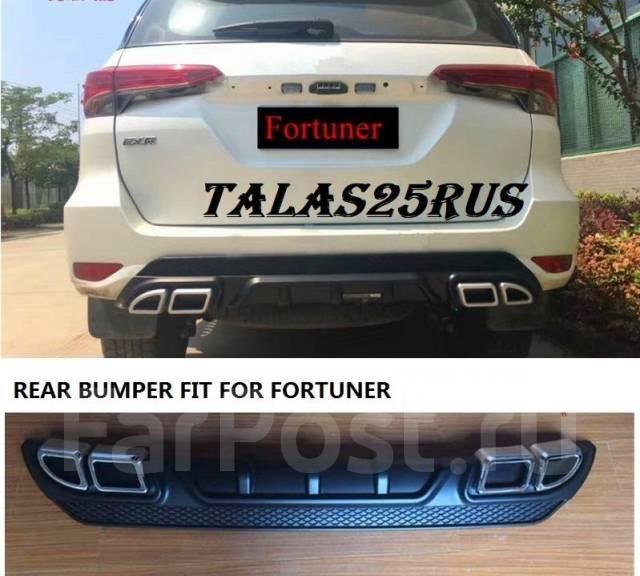 Дефлектор радиатора. Toyota Fortuner, GUN166, TRN166 Двигатели: 1GDFTV, 2TRFE