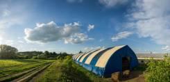 С/х комплекс: 3 ангара к аренде . Хороший вариант для фермеров. 1 000кв.м., Урмары, д. Арабоси, Лесная, р-н Урмарский