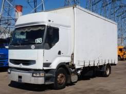 Renault Premium. Шторный грузовик 400, 11 100куб. см., 8 800кг.
