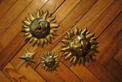 Аукцион ! Декоративные штуки Швейцария латунь. Оригинал