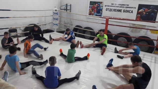 Бокс и кикбоксинг для самых маленьких!
