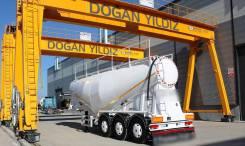 Dogan Yildiz. Цементовоз 34 куба, Dogan (Турция) 2018 год, в наличии, с компрессором, 44 000кг. Под заказ