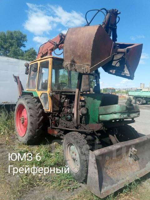 ЮМЗ 6. Трактор грейфер