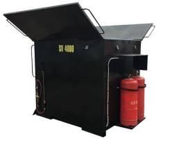Термос-бункер для асфальта