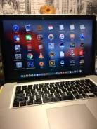 "Apple MacBook Pro 15 2010 Mid. 15"", 2,4ГГц, ОЗУ 8192 МБ и больше, диск 500Гб, WiFi, Bluetooth, аккумулятор на 3ч."
