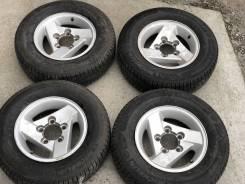 """Калёса на 15 5*139,70. Suzuki Jimny. 215/70R15 зима 14 год. 5.5x15"""" 5x139.70 ET5 ЦО 110,0мм."""