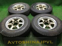 """215/80R15 Yokohama Geolandar 2007г R15*6.5J 6*139.7 +25 ЦО110(1050). 6.5x15"""" 6x139.70 ET25 ЦО 110,1мм."""