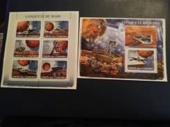 Набор марок космос чистые.