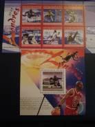Набор марок спорт чистые.