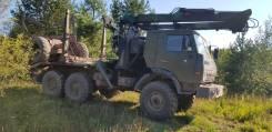 КамАЗ 4310. Продается камаз 4310 лесовоз - роспуск с манипулятором Атлант 90